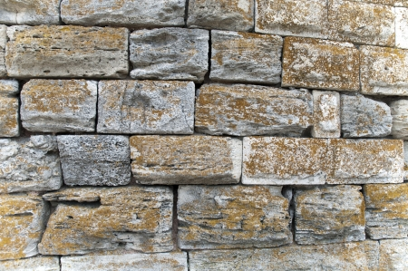 Old stone wall for textured
