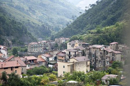 torri: Nature view Torri Village in Ventimiglia, Italy