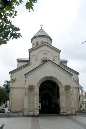 Old Orthodox church in tbilisi georgia