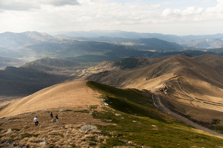 Bakuriani Ski Center Peak View of the Nice Landscape on Georgia