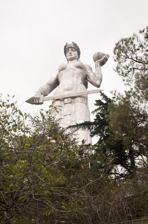 Mother of Kartli Statue in Tbilisi City Center ,Georgia