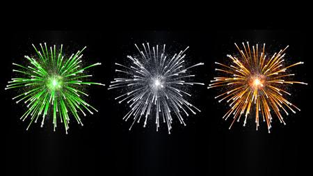 guy fawkes night: irlandese celebrazione nazionale di fuochi d'artificio Archivio Fotografico