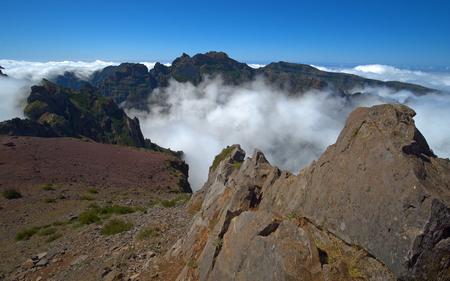 Pico do Arieiro (Pico do Areeiro) in Madeira, Portugal