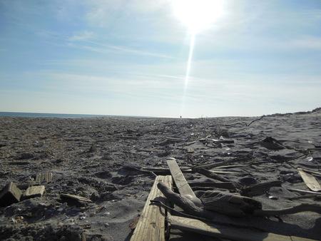 Surf City LBI Beach after Hurricane Sandy
