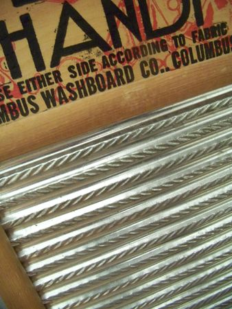 washboard: washboard