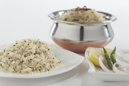 Jeera rice  longgrain basmati rice flavoured with fried cumin seeds
