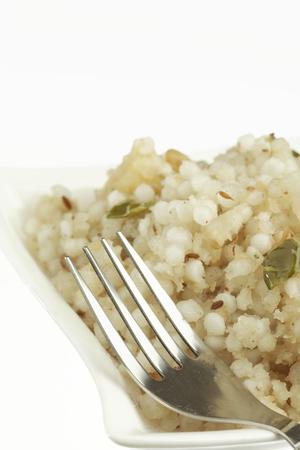 marathi: Fast food sago sabudana khichdi.