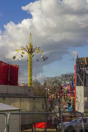 chairoplane: Outside a Fun Fair in London