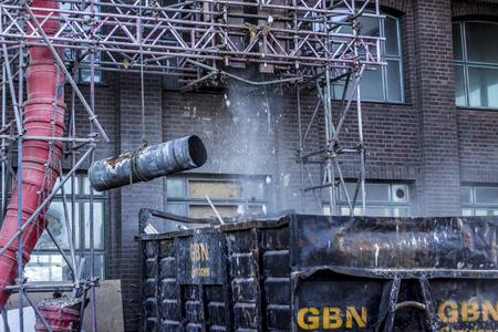 andamio: Andamio de la construcción en Londres