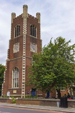 saint paul: Cambridge, England - July 7, 2016: The Church of Saint Paul in Cambridge, England.