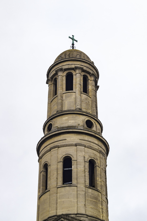 religion catolica: The tower and dome of the parish church of St Anne in Wandsworth, London, England.