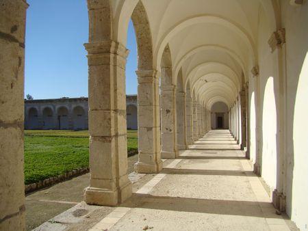 capri: carthusian monastery San Giacomo on Capri,