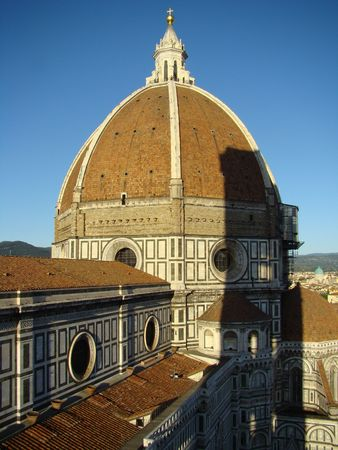 florentine: Florentine Cathedral seen from the bell tower Stock Photo
