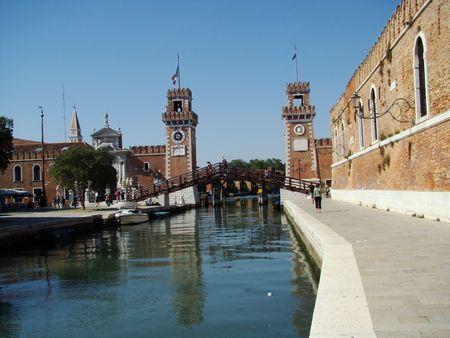venetian Arsenale Stock Photo