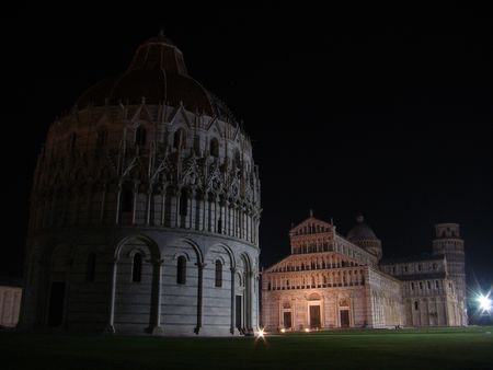 Square of Miracles by night photo