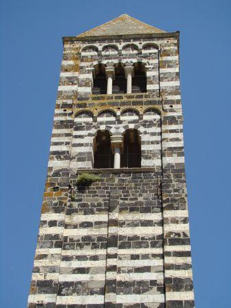 belfry: romanesque belfry Stock Photo
