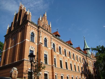 theological: teological seminary in Cracow