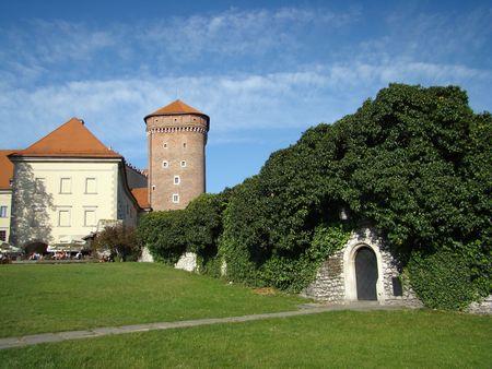 wawel: Wawel Hill Stock Photo