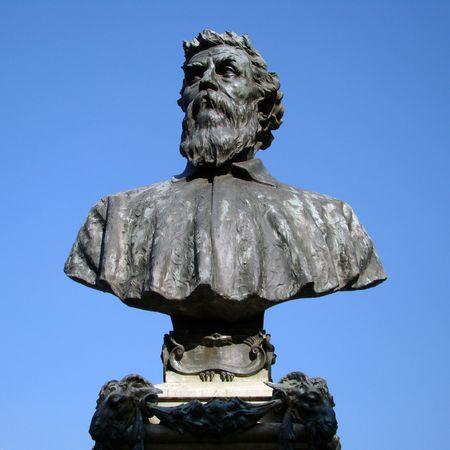 influential:         statue of Benvenuto Cellini, a Florentine goldsmith