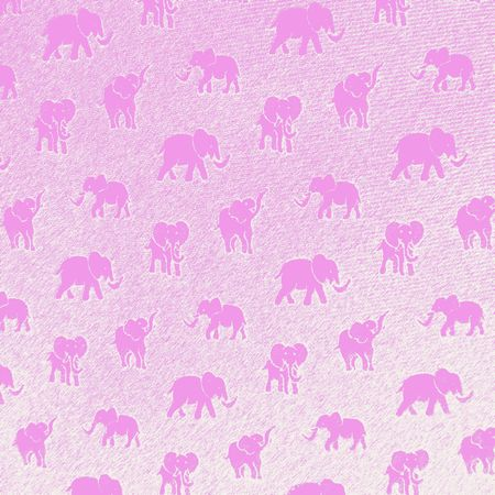 hallucination:                                 seeing pink elephants Stock Photo