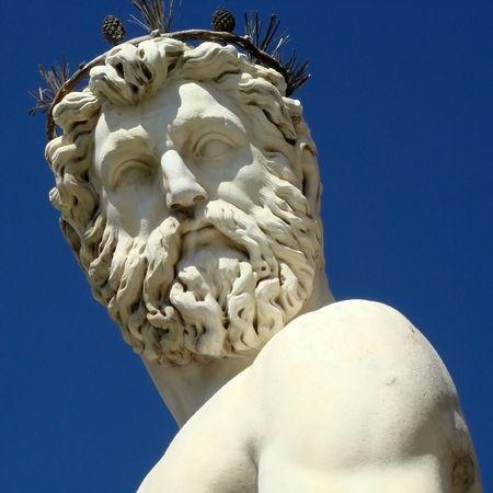 poseidon:          neptune closeup, Florence