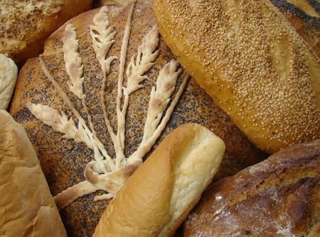 bread, harvest festival                                photo