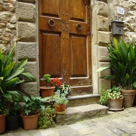 lovely italian entrance                                photo