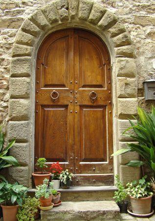pretty tuscann entrance                                photo