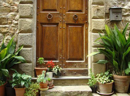 flowery: la entrada de flores a la casa de