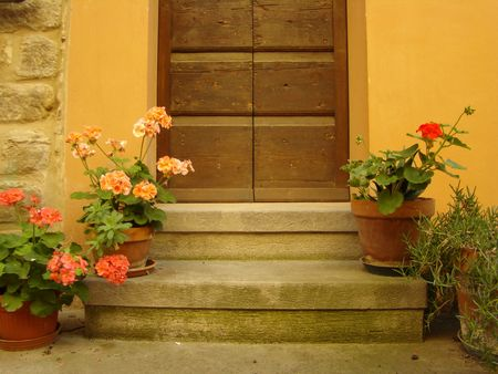 lovely entrance to the home                                photo