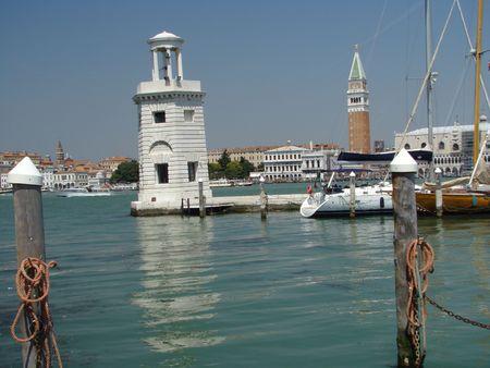 lighthouse in Venice                                photo