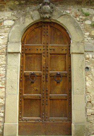 house coat:  elegant entrance with family coat in Tuscany