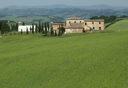 farm in Tuscany photo