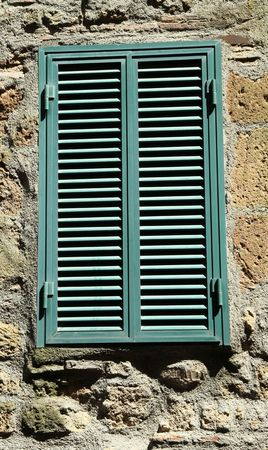 typical shutters in Italy  photo