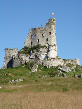 mirow: Castle in Mirow, Poland