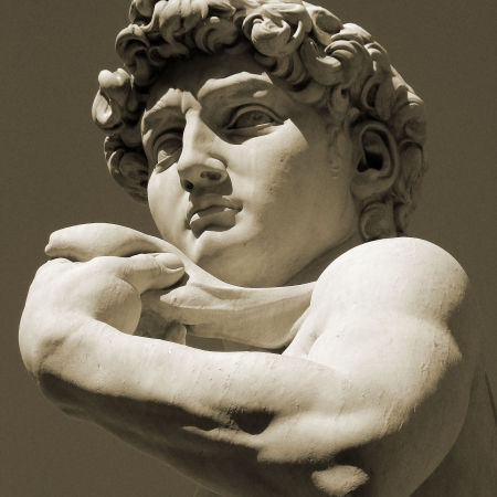 creative strength:    David Sculpture, Florence