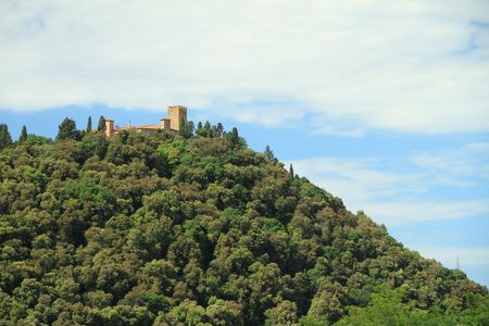 castle on hill photo