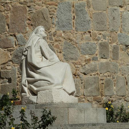theologians: Saint Teresa of Avila, Avila, Spain  Stock Photo