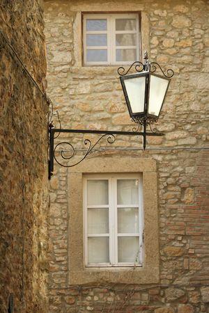 nook: street lantern, Tuscany
