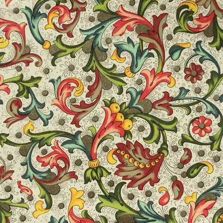 decorative artistic vintage paper from Florence photo