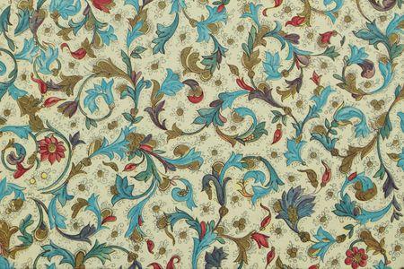 filigree floral decorative paper photo