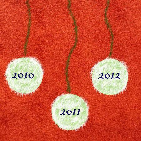 new  year greetings card Stock Photo - 8178103