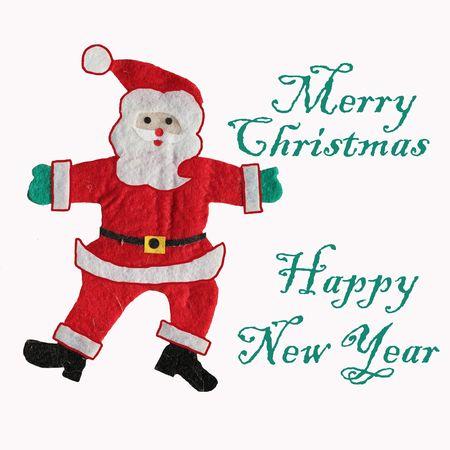 lapland: Xmas card with Santa