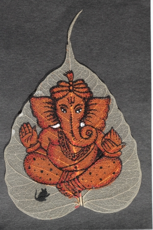 hindu deity Ganesha : son of Parvati and Shiva photo