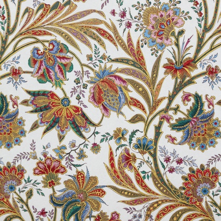 floral ornamental paper, Florence photo