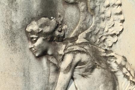 bas relief: antique angelic relief