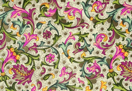 ornamental wrapping from Florence Stock Photo