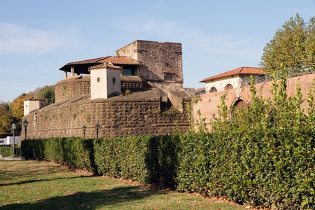 fortezza:  Fortress of San Giovanni Battista in the honour of the Saint protector of Florence. Place of exhibitions as: Fair of the Convention Tourism, Exhibition International Market of Handicraft, Italy,Europe