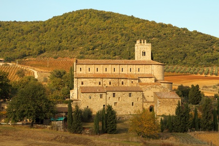 abbazia: St. Antimo Abbey  (Abbazia di Sant