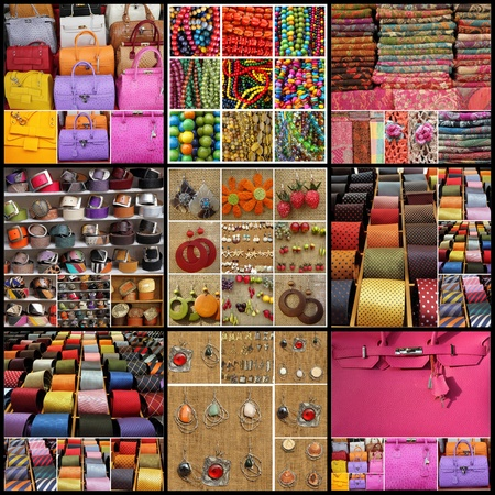 accessories collage